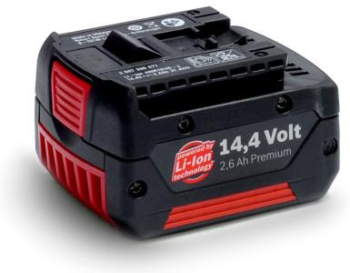 Akumulátorová baterie Li-lon typu BOSCH 14.4V